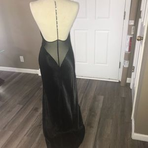 Frederick's of Hollywood Black Lingerie Gown Sz M